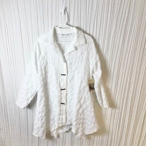 NWT Boutique brand textured jacket